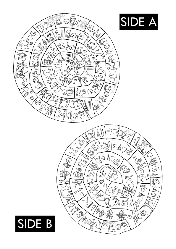 Phaistos Disk Web View